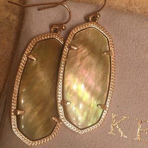Rose gold Kendra Scott Elle earrings